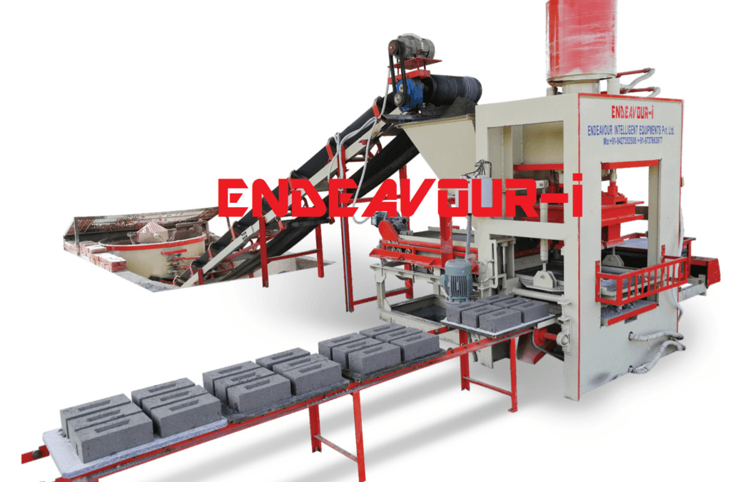 hydraulic concrete block machine price