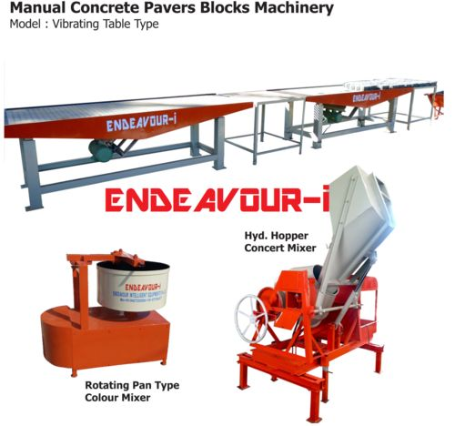 vibrating table concrete machine price