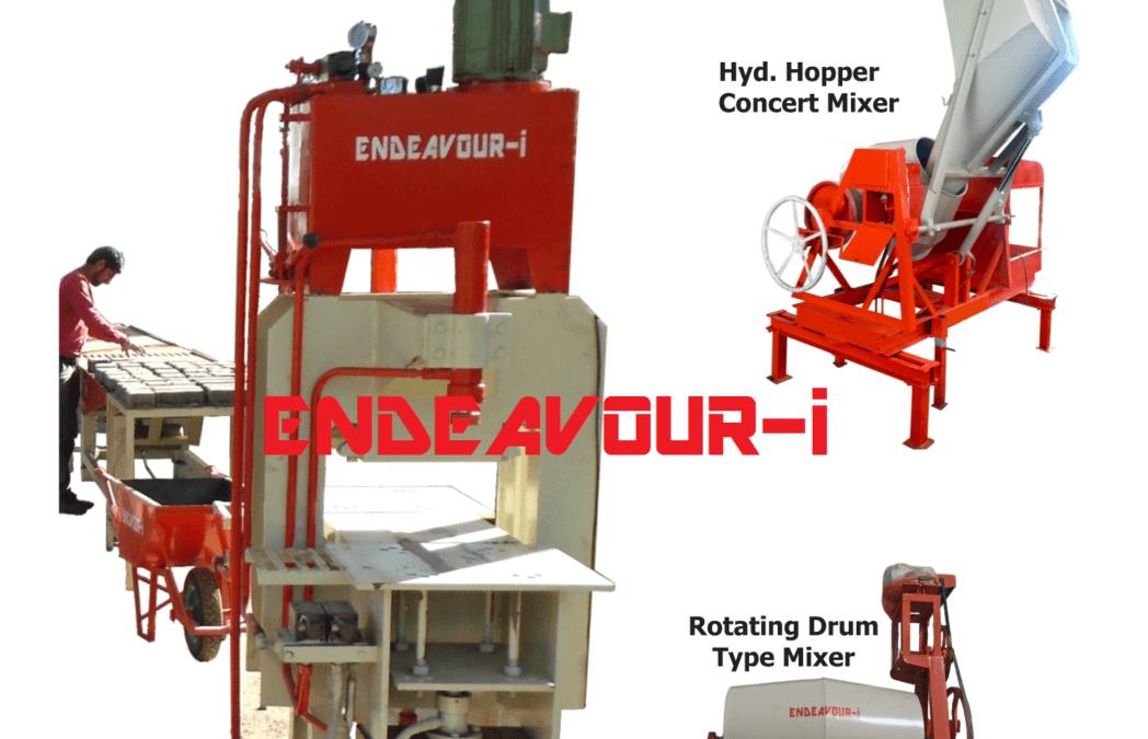 semi automatic paver block machine manufacturer